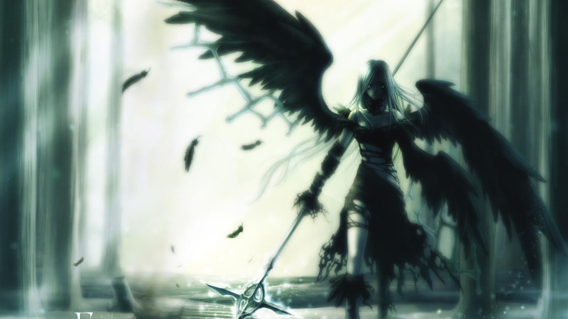 Wings Anime Wallpaper 1920x1080 Wings Anime Girls 1920x1080