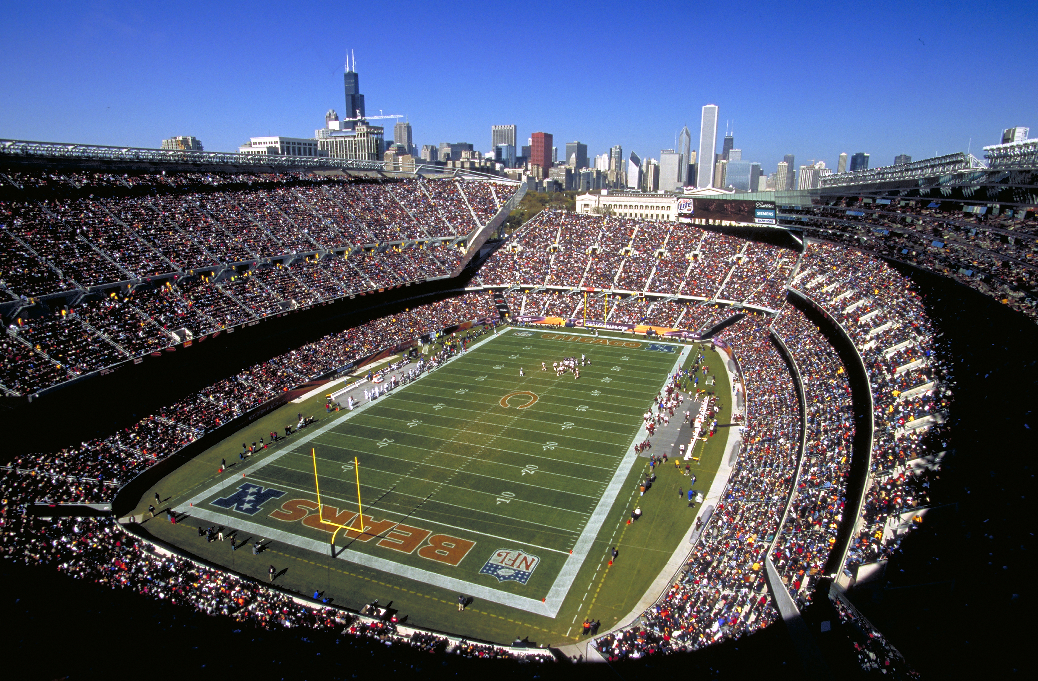 Back Gallery For soldier field wallpaper 3317x2178