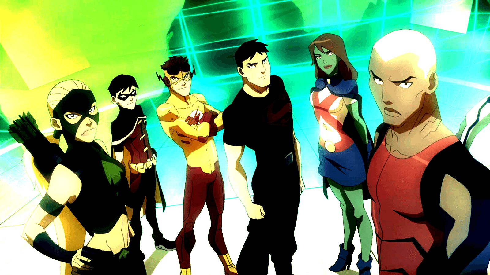 Young Justice Wallpapers 1600x900