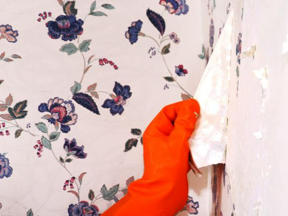 How to Remove Wallpaper Using Solvents or Steam Interior Design 581x435