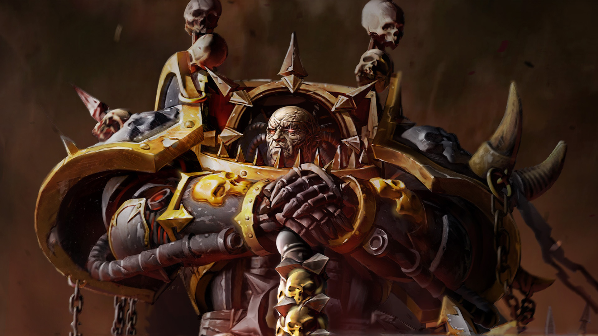 40K Wallpaper 1920x1080 Warhammer 40K Artwork Space Marine Chaos 1920x1080
