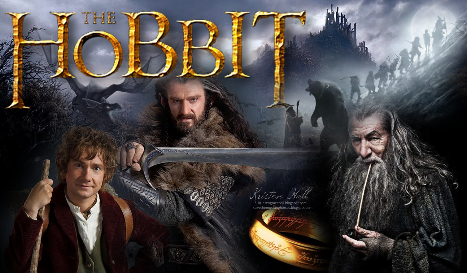 The Cynical Unicorn The Hobbit wallpaper 1508x882