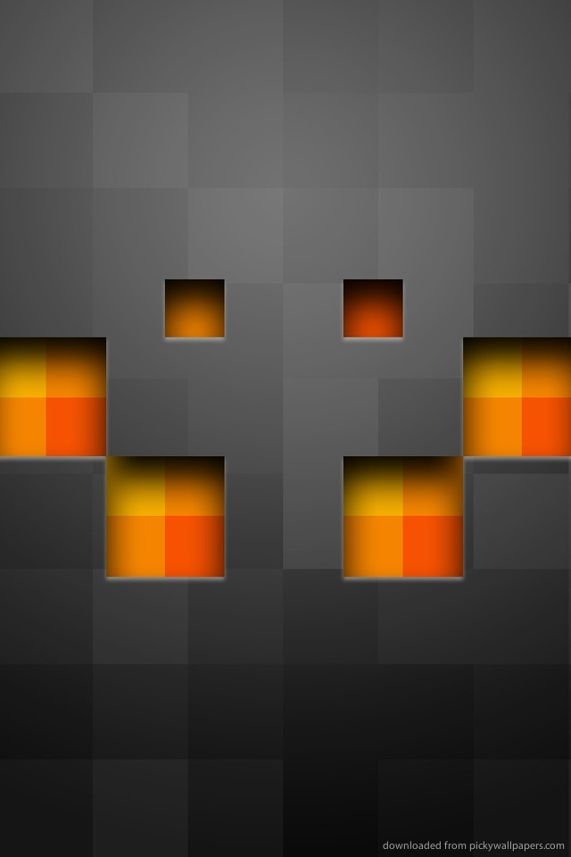 Minecraft hd phone wallpapers wallpapersafari - Creeper iphone background ...