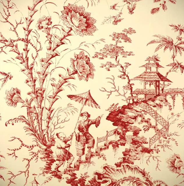 Pillement Toile Wallpaper   Asian   Wallpaper   by Passementeries 632x640