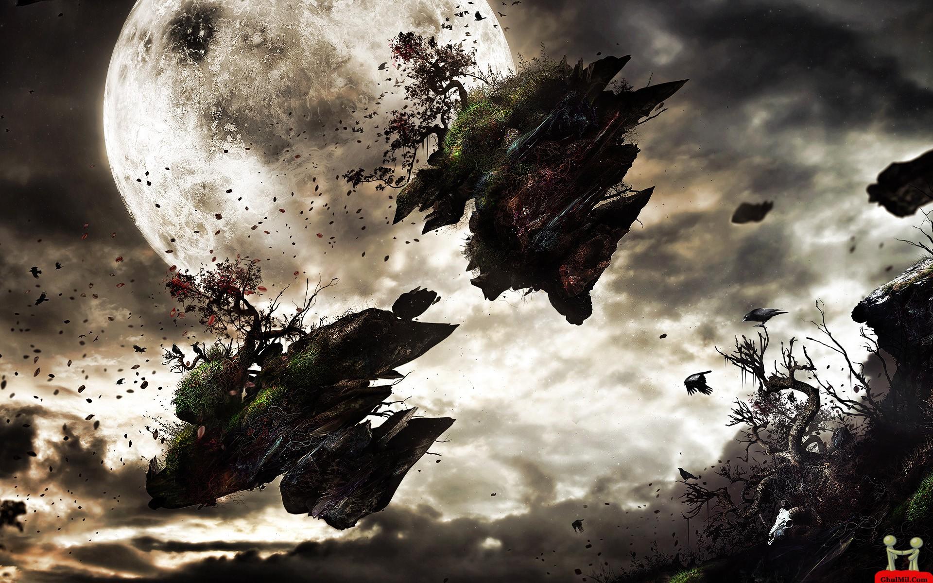 Amazing 3D Planet Disaster Wallpaper E Entertainment 1920x1200
