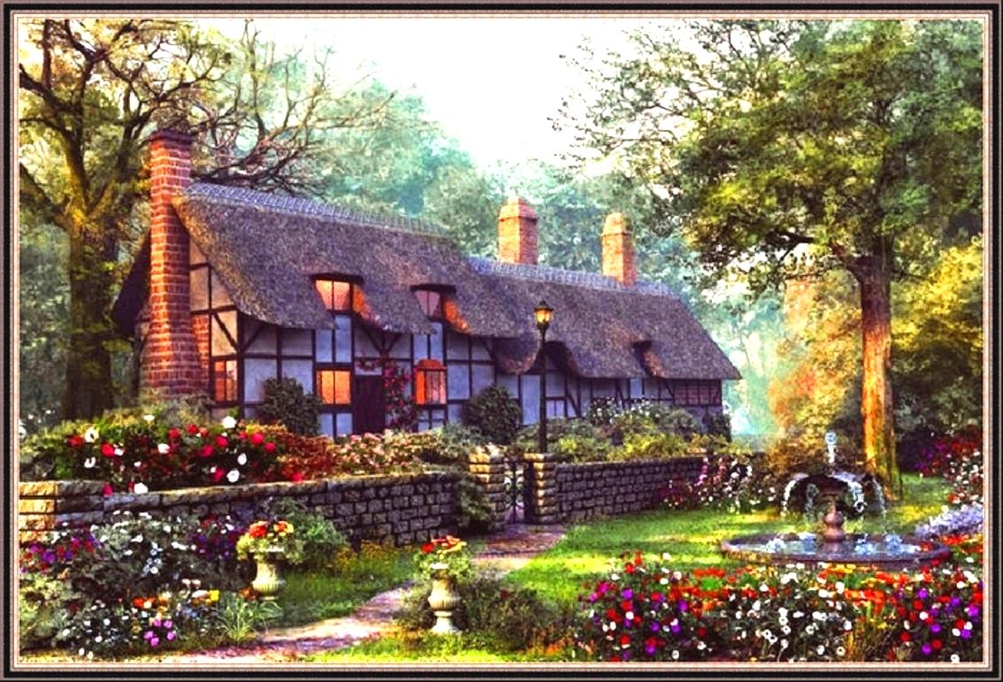 English cottage   137359   High Quality and Resolution Wallpapers 1134x771