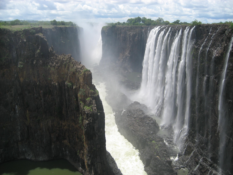 Victoria Falls Zimbabwe HD Wallpaper Nature Wallpapers 2816x2112
