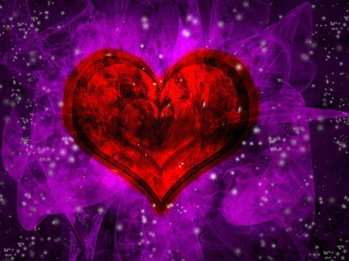 Image   Purple and Red flame heart backgroundjpg   DJLs OCs Wiki 500x375