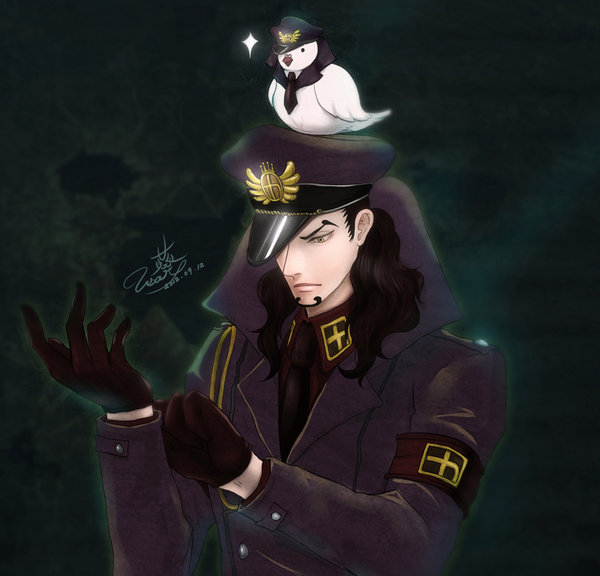 ONEPIECE Lucci the warden of Impel Down by usaki1987 on 600x576
