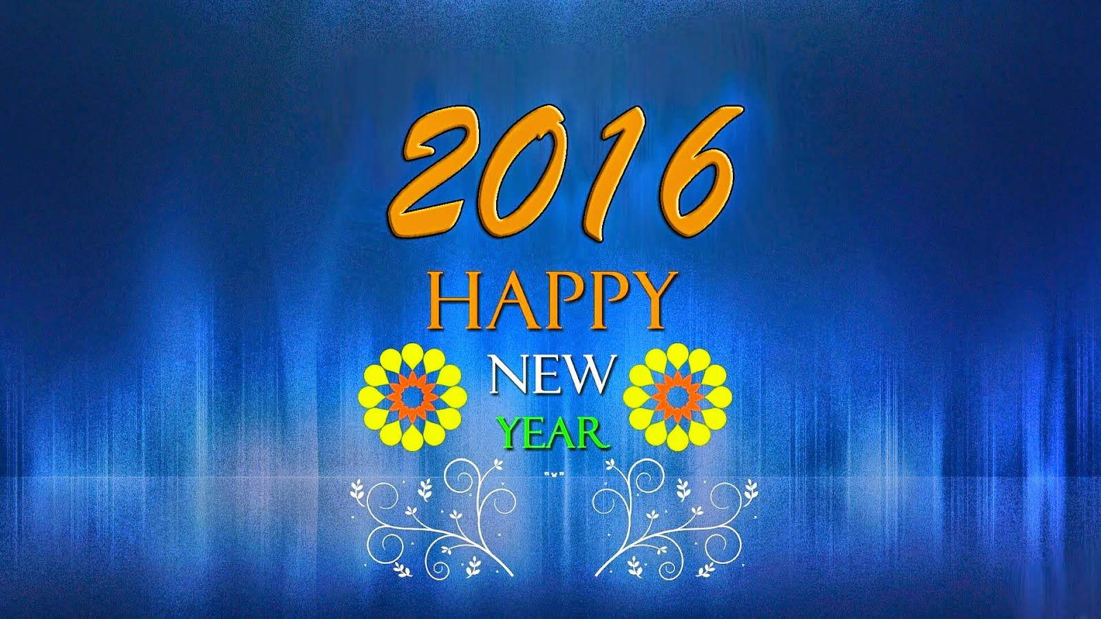 3D Wallpapers Happy New Year 2016 Download 3D Wallpapers 1600x900