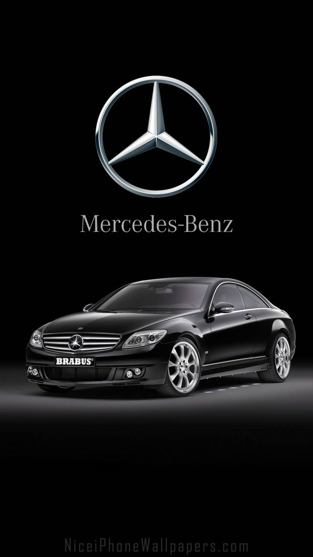 Mercedes-Benz CL600 Brabus HD iPhone 5 wallpaper | Cars ...