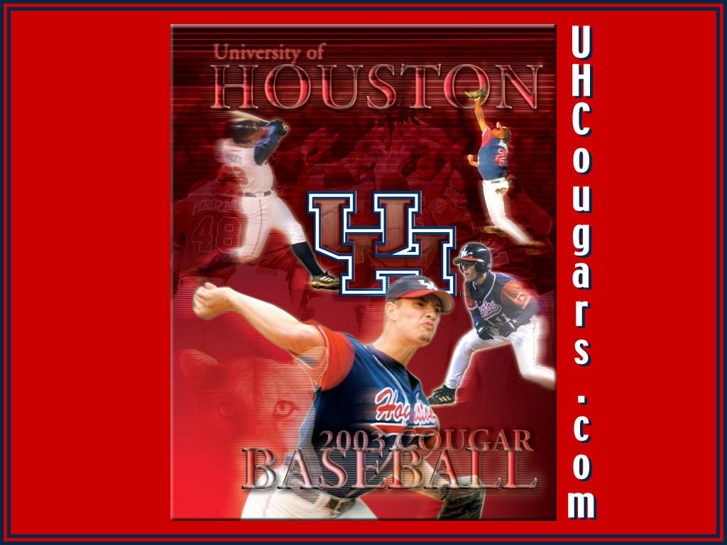 Computer Wallpaper   University of Houston Athletics UH Cougars 1024x768