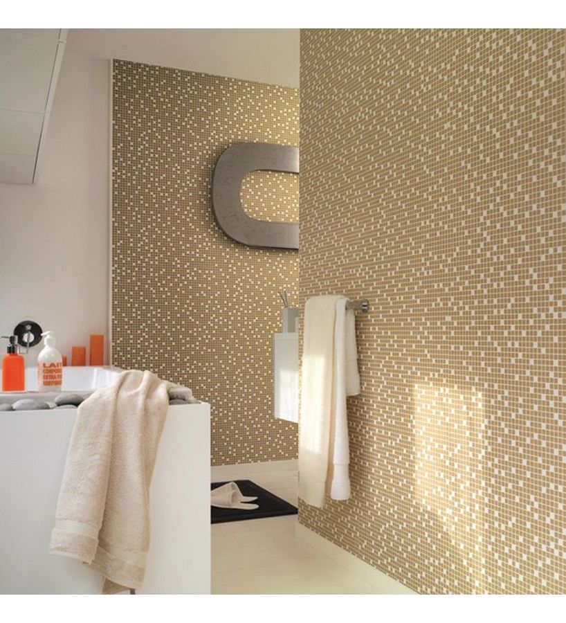 Gold Cream Washable Solid Vinyl Wallpaper Suitable For Kitchens 818x900