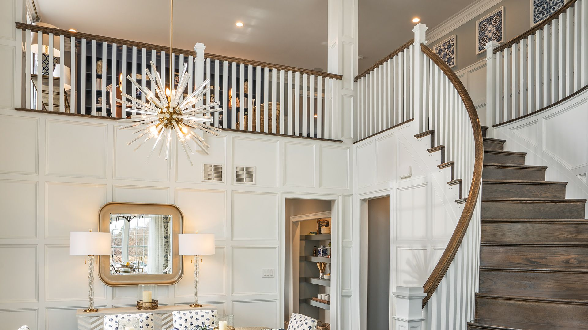 Bucknell by Toll Brothers Entry Hall Staircase Toll 1920x1080
