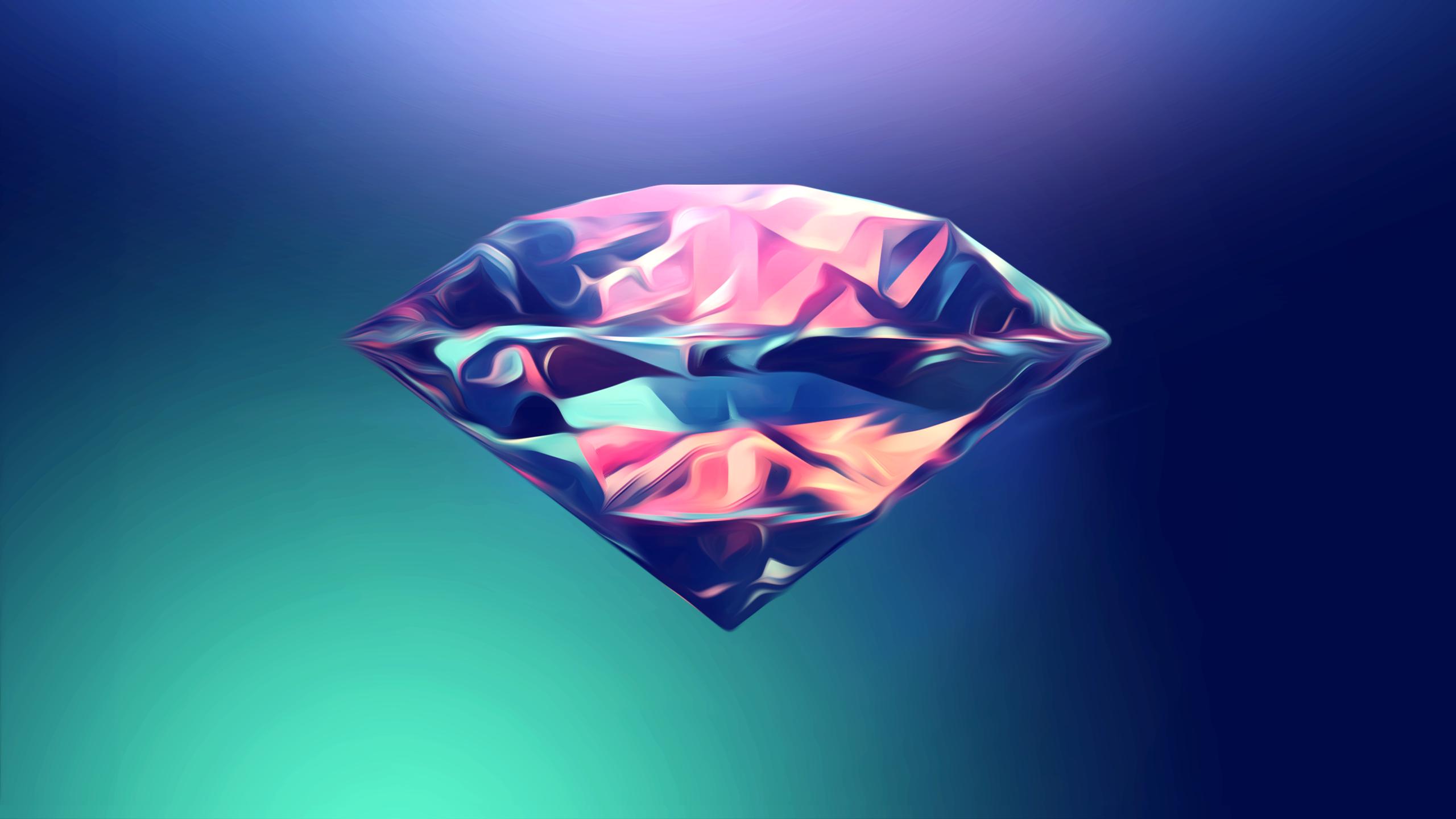 Free Download Abstract Diamond Wallpaper By Silentpotatogfx