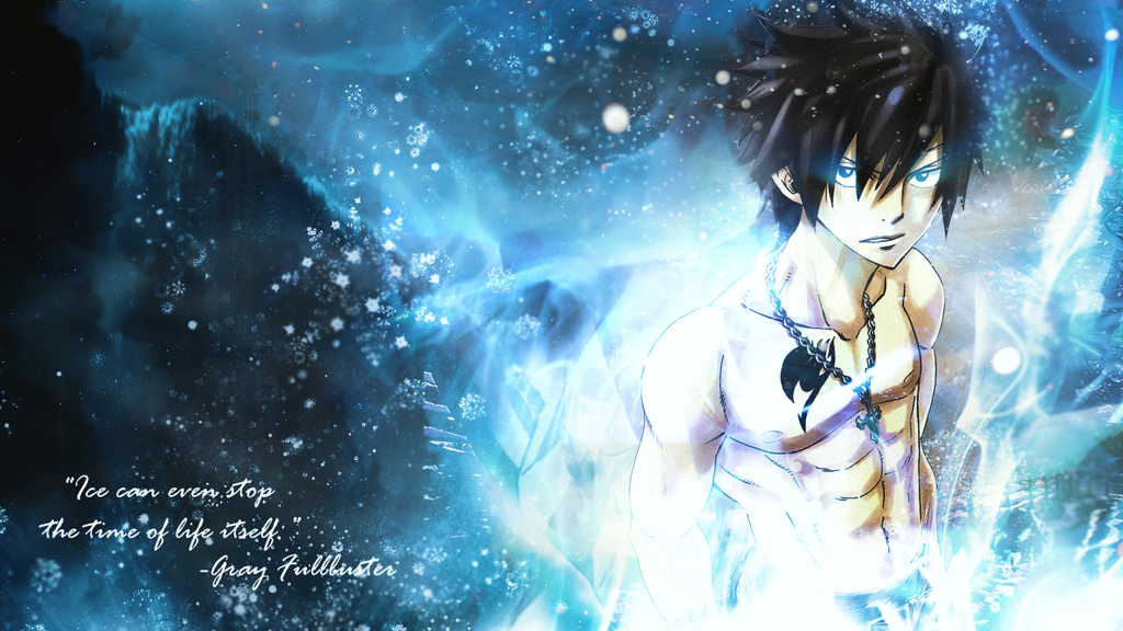 Fairy Tail Gray Wallpaper by masterdoom50 1024x576