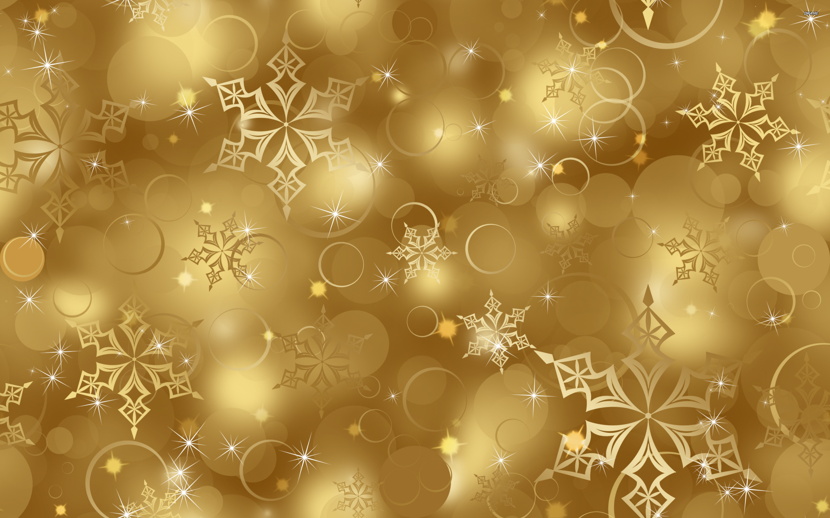 Wallpaper With Gold Stars