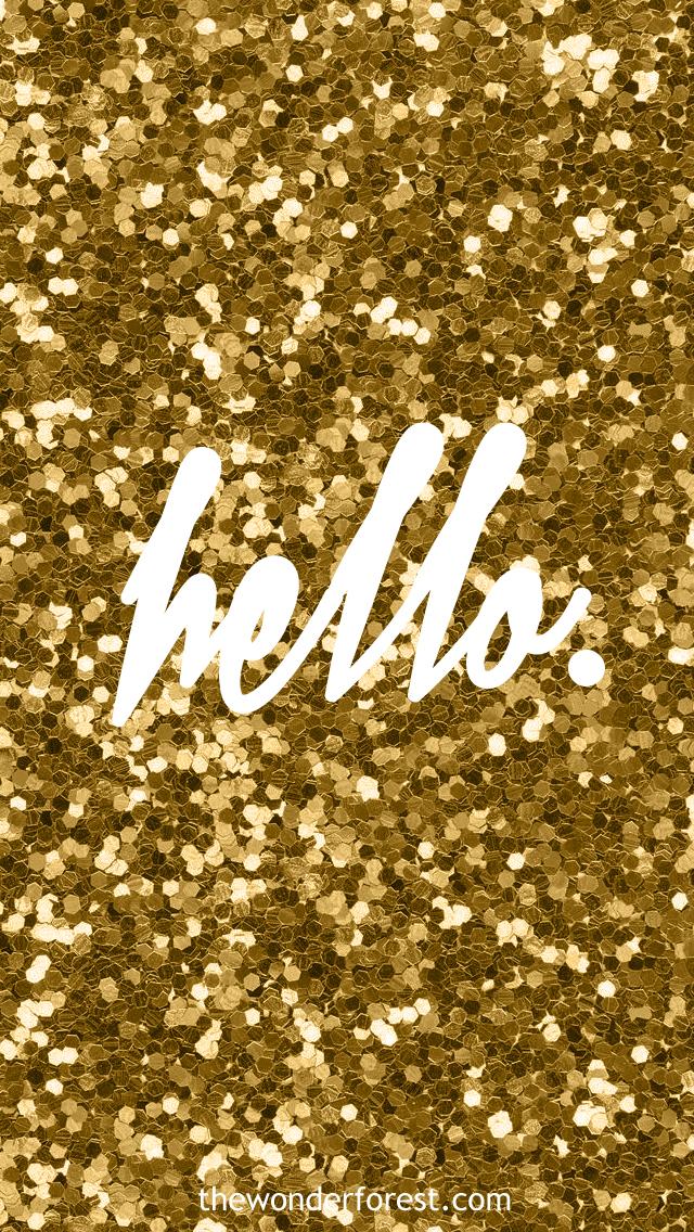 Rose Gold Glitter Iphone Wallpaper Ipod 5 640x1136