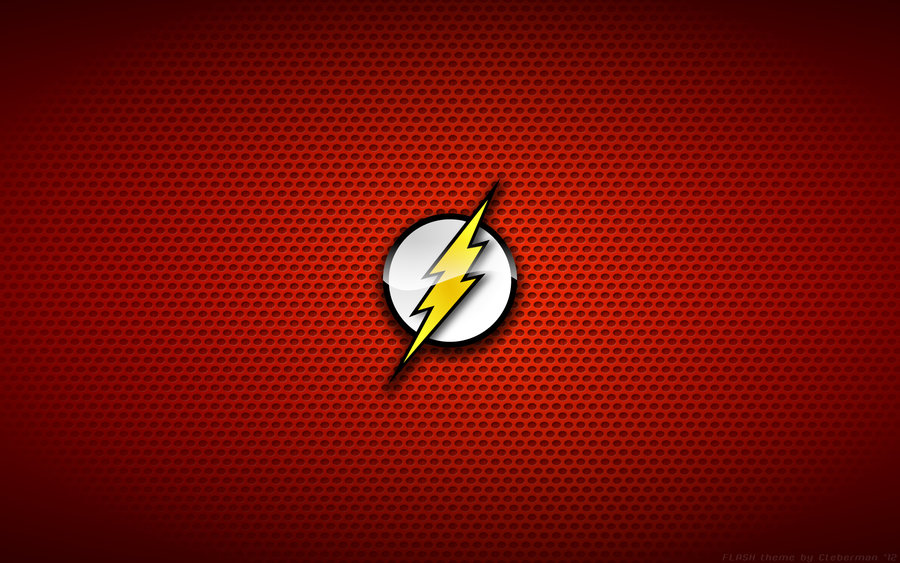 Wallpaper   The Flash Logo by Kalangozilla 900x563