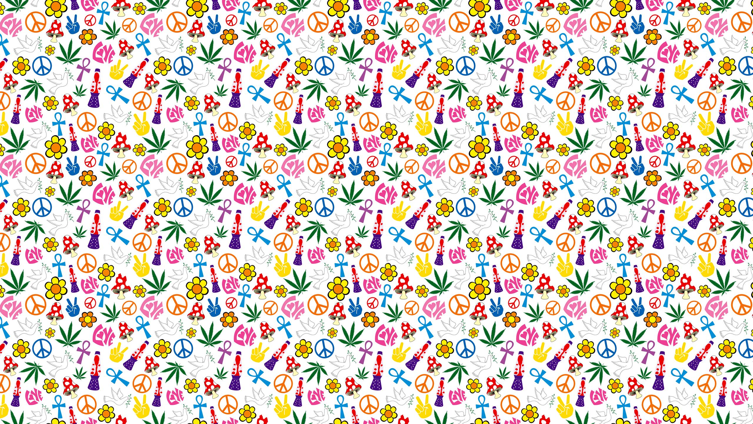 World Peace Desktop Wallpaper 2560x1440