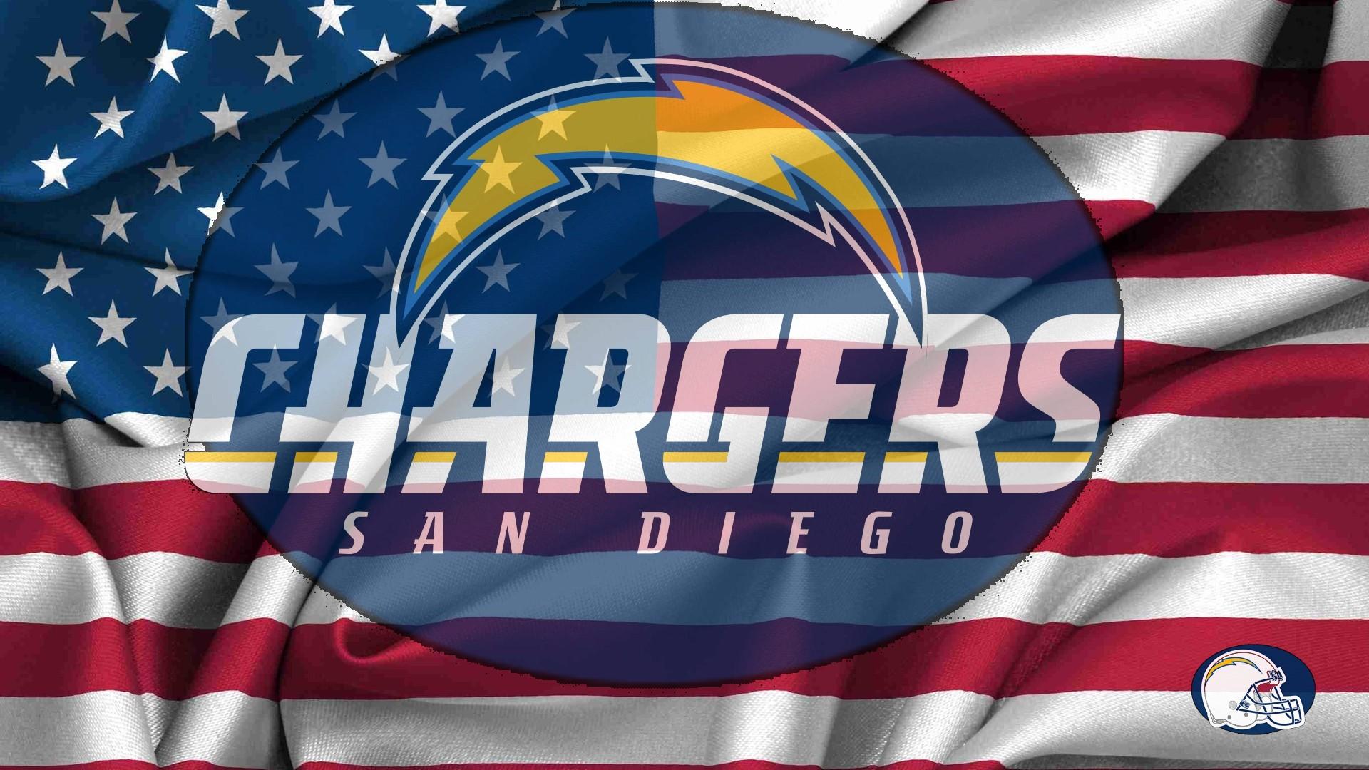 San Diego Chargers Logo 1920x1080