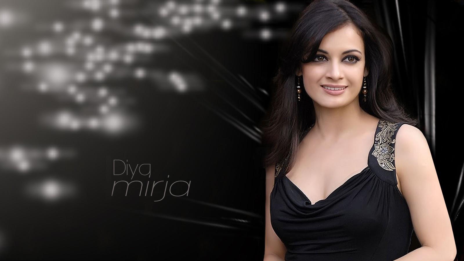 HD Wallpapers Fine diya mirza hot hd wallpapers 1080p download 1600x900