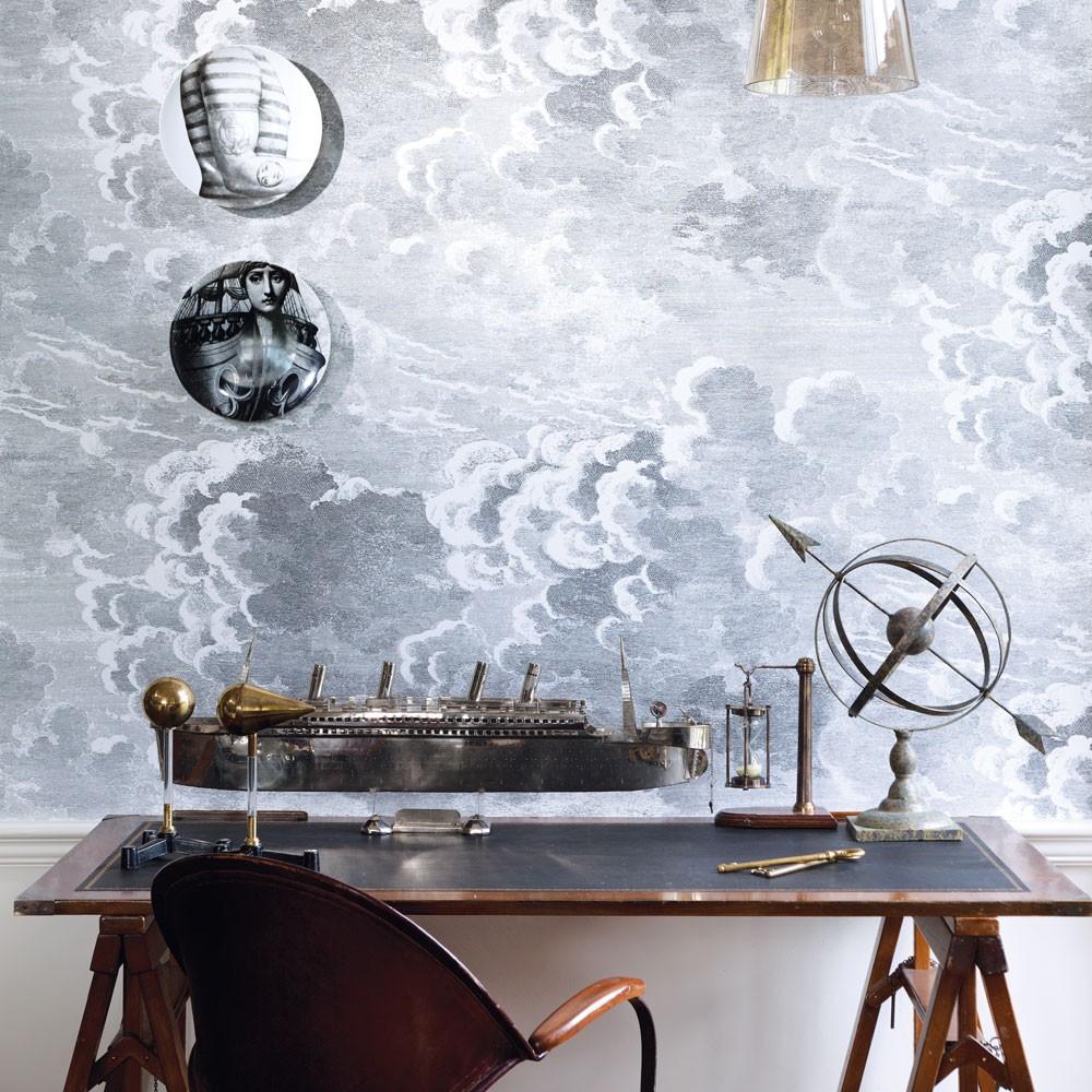 Fornasetti II Nuvolette Wallpaper   Set of 2 Rolls 1000x1000