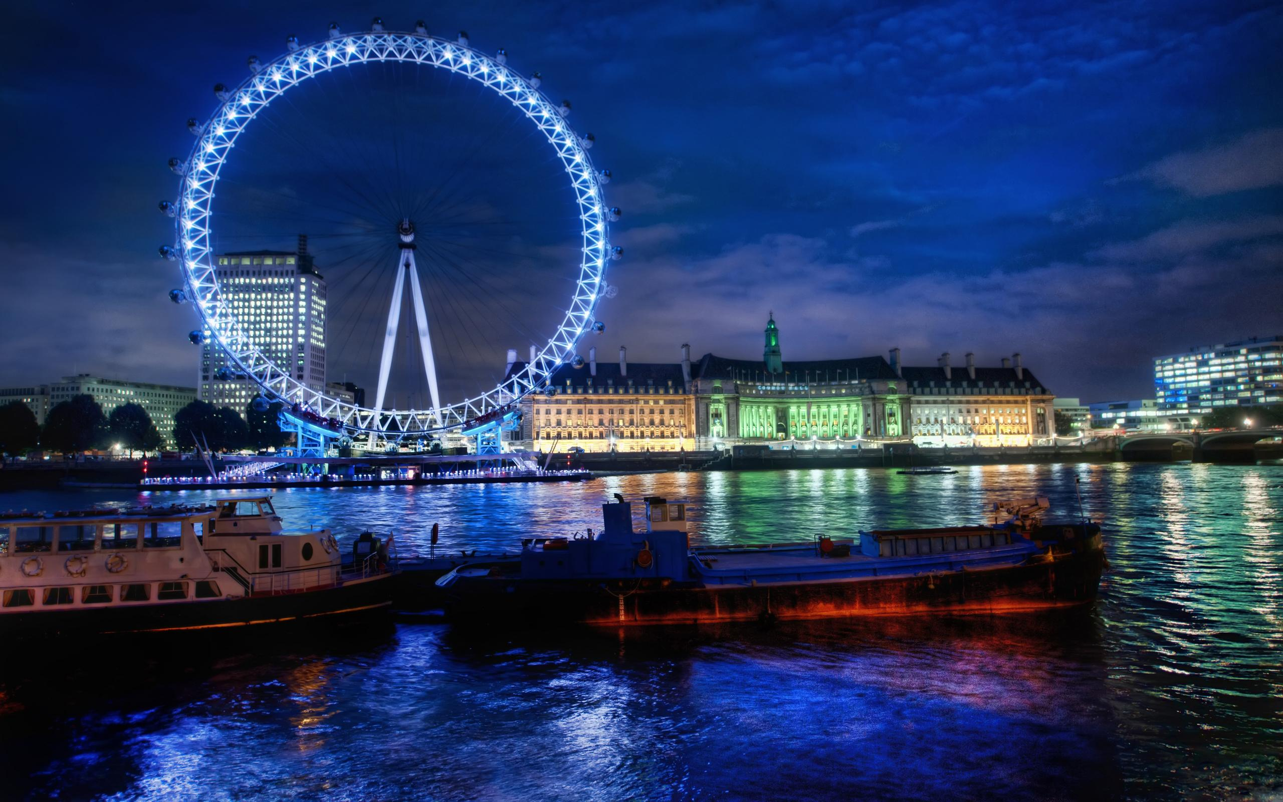 The London Eye Hd Wallpaper Wallpaper List 2560x1600