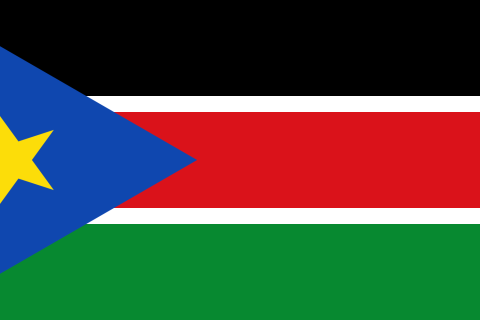 South Sudan Country Flag Wallpaper PaperPull 960x640