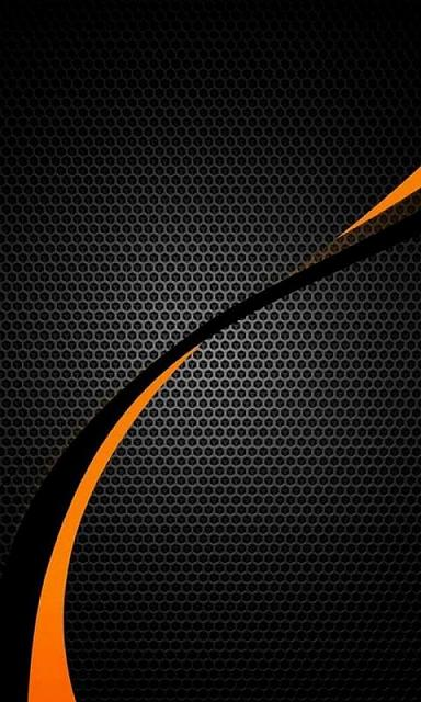 Wallpaper Black And Orange Orange black imagejpg 384x640