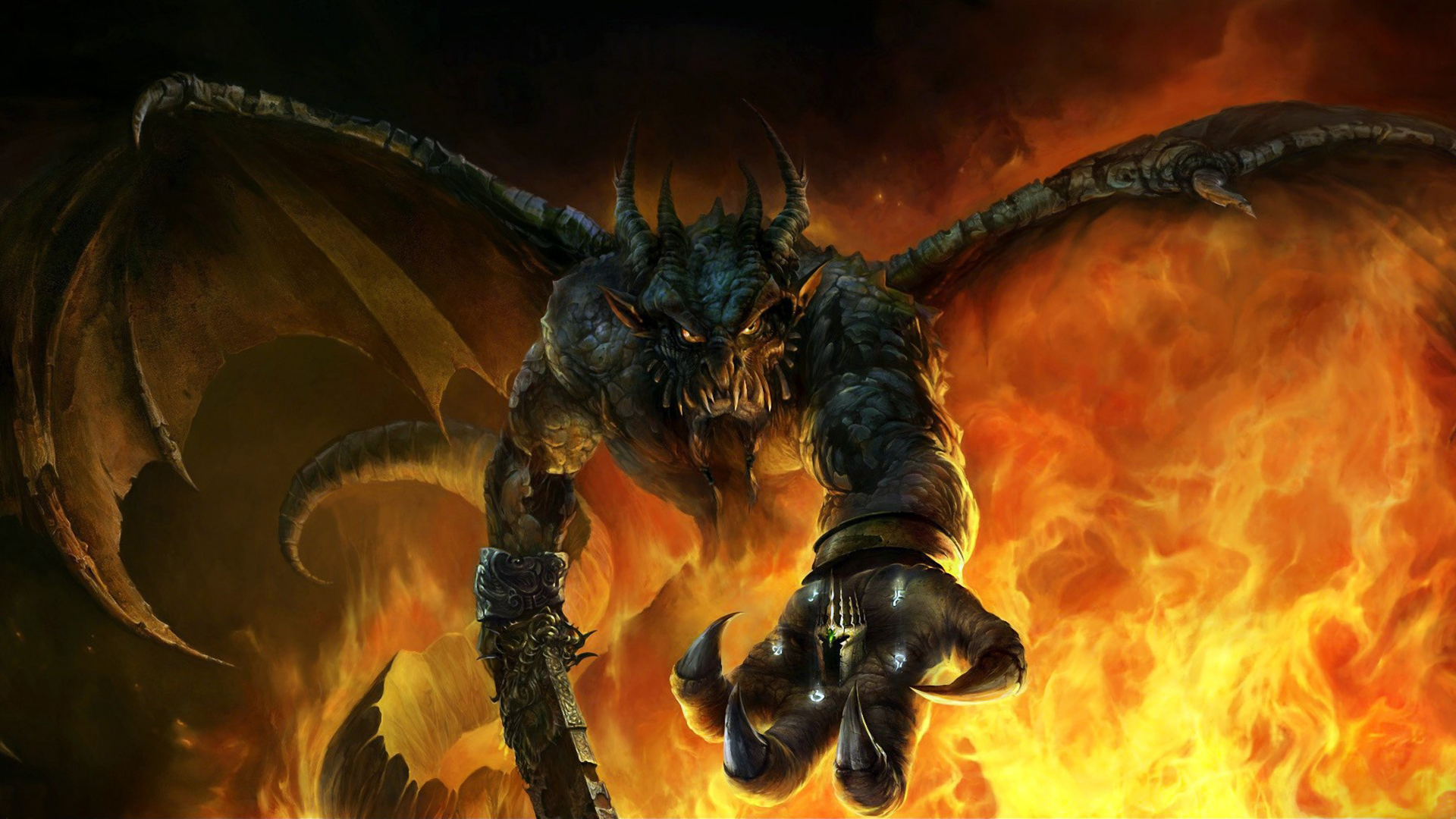 Fantasy   Demon Wallpaper 1920x1080