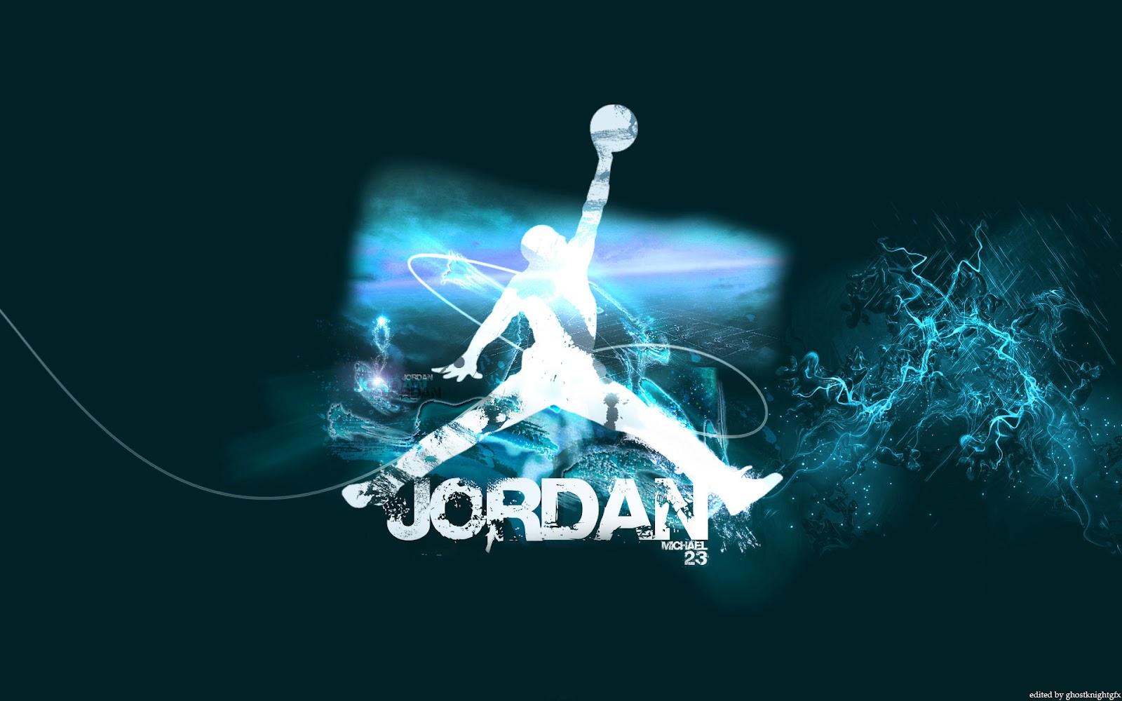 michael jordan air logo widescreen wallpaper black jordan logo copy 1600x1000