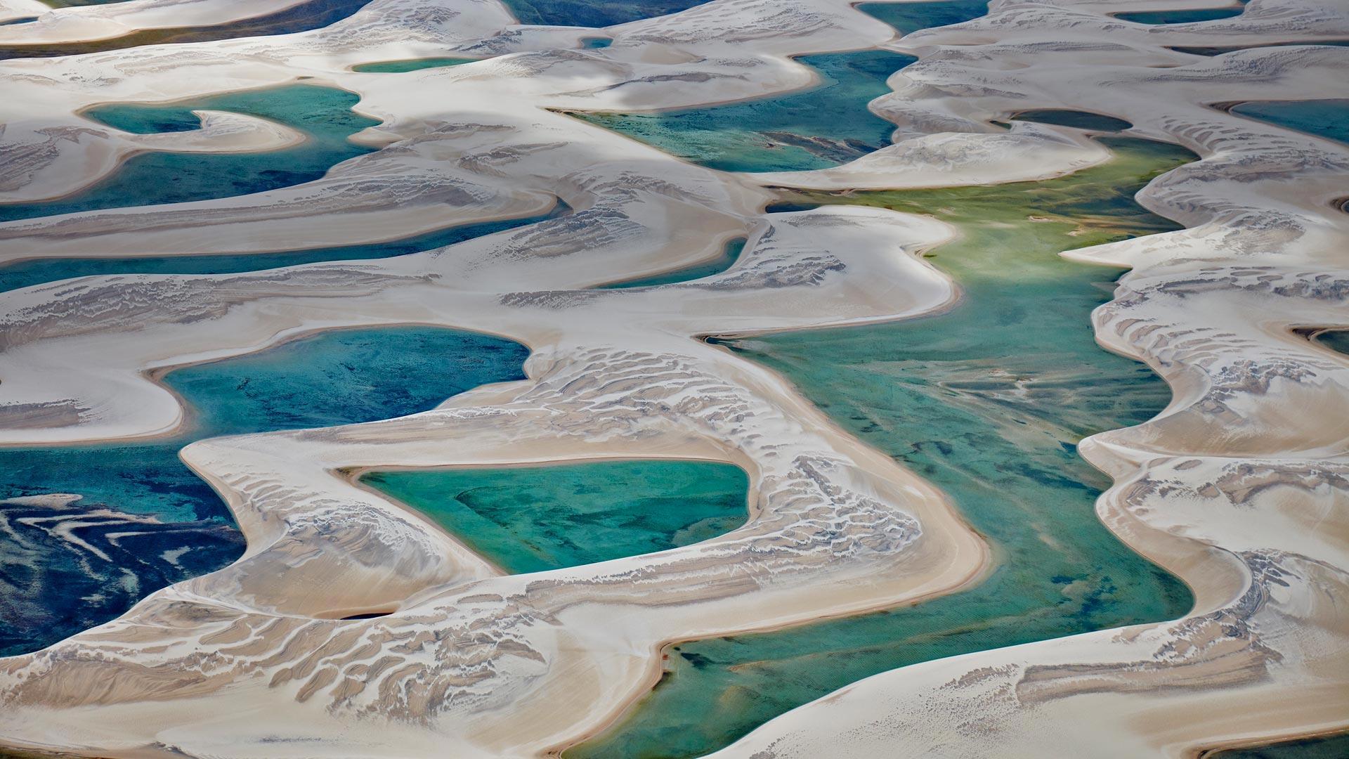 Lenis Maranhenses National Park Bing Wallpaper Download 1920x1080