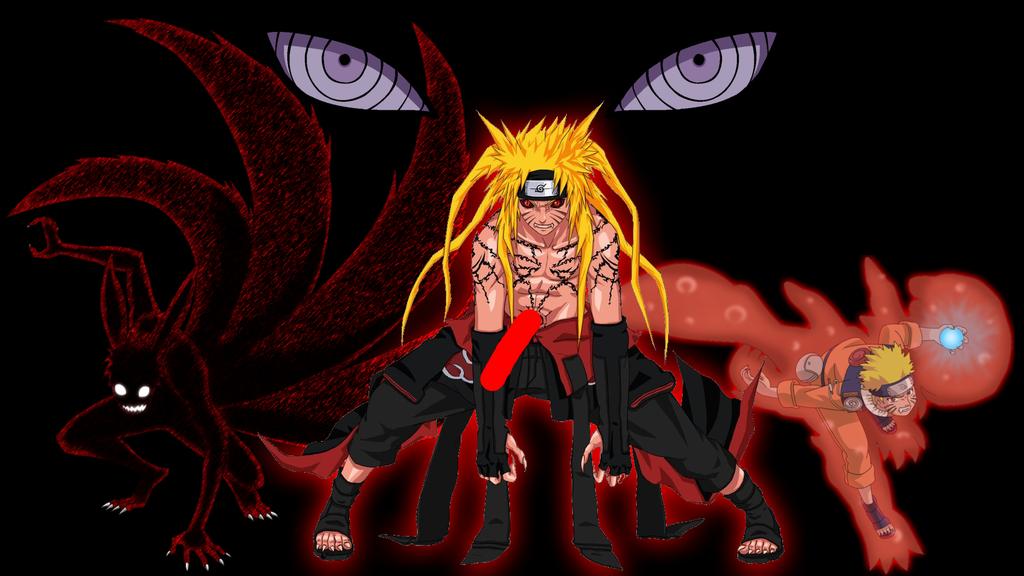 Naruto Neuf Queues Sauge Mode Fond D Ecran Ajglovunklas Cf