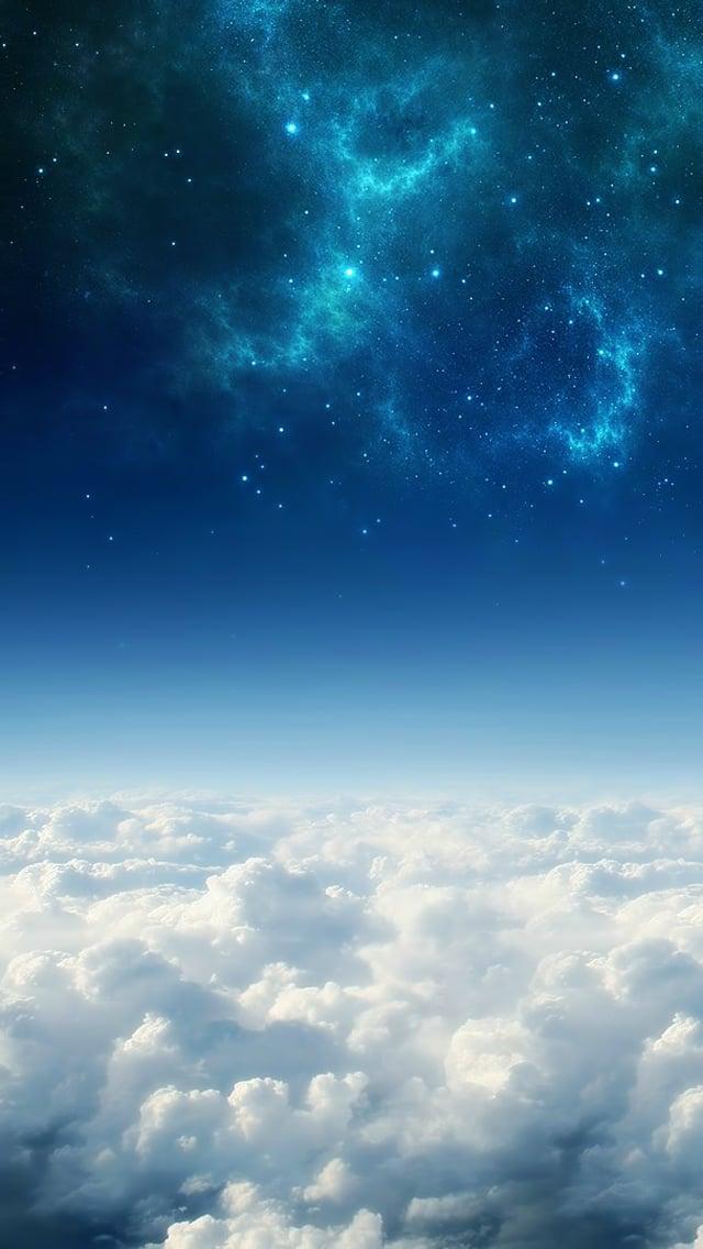 Blue Sky Iphone Wallpaper Wallpapersafari