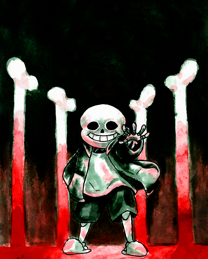 UNDERTALE SPOILERS kinda by Lattianpesuaine 803x1000