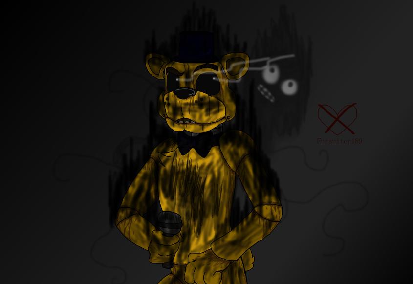 Golden Freddy by Fursuiter189 845x581