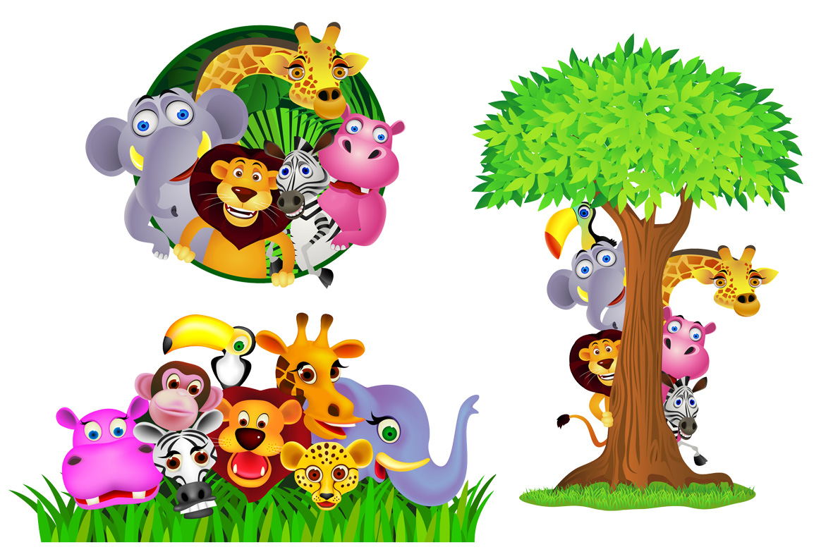 Wall Stickers Jungle Jungle Theme Wallpaper For Kids Wallpapersafari