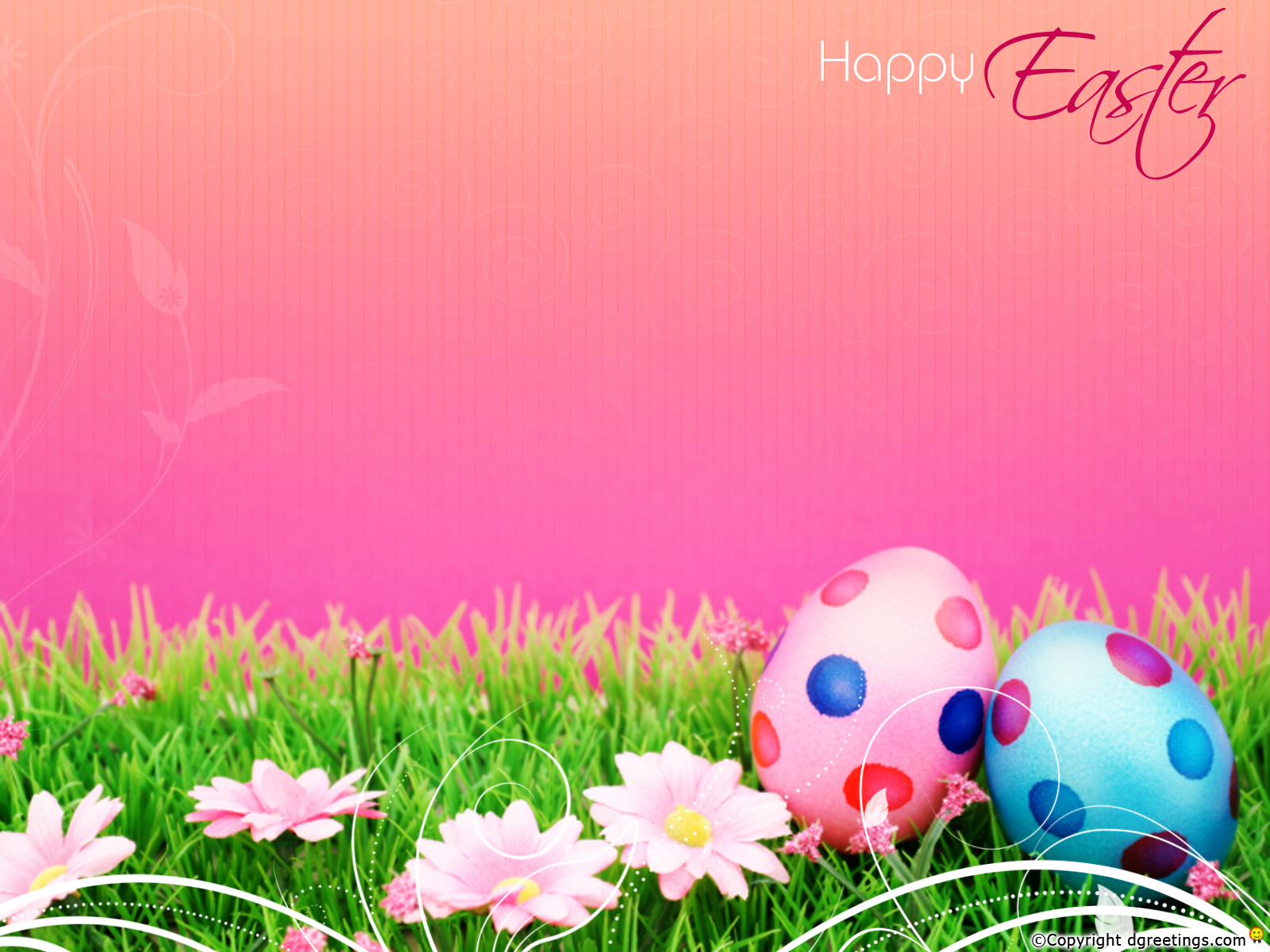 Pics Photos   Wallpaper Backgrounds Easter Background 06 1600x1200