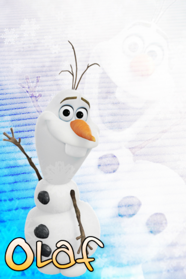 Olaf iPod Wallpaper by xRandomGurl 640x960