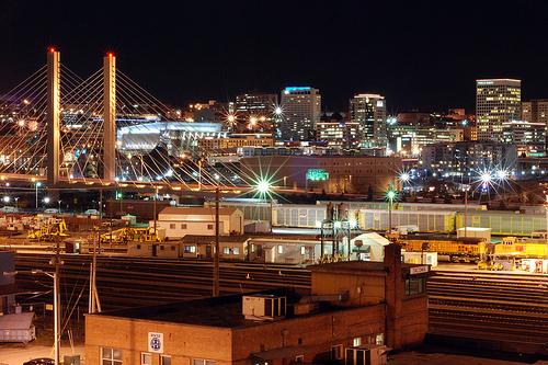 City Of Tacoma Wa Skyline httpwwwflickrcomphotosdavekellman 500x333