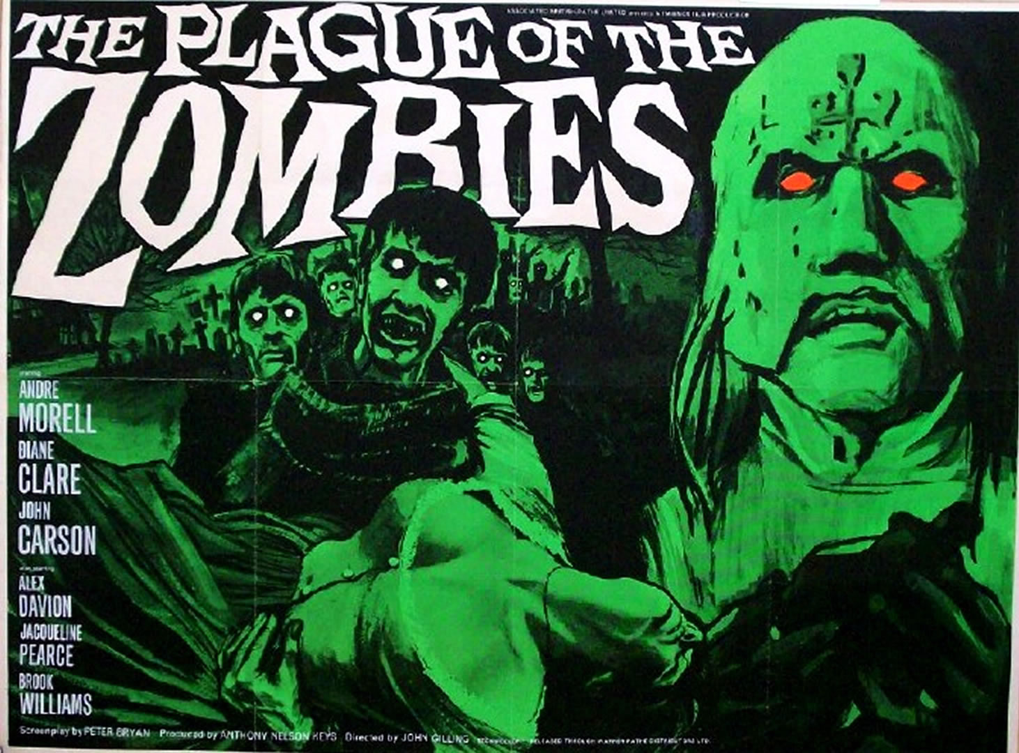 Classic Horror Movie Posters Wallpaper Hammer horror the plague of 1462x1080