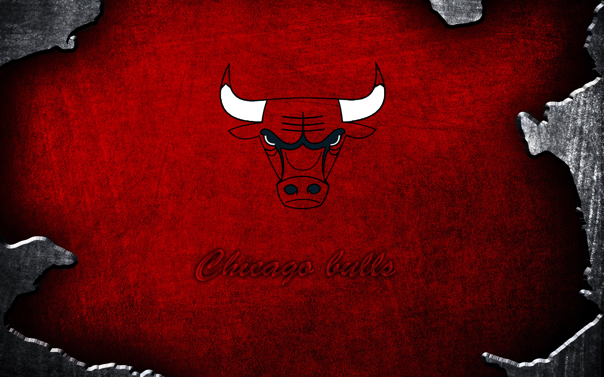 Chicago Bulls Basketball Team Fan Art Logo HD Wallpaper Download HD 1920x1200