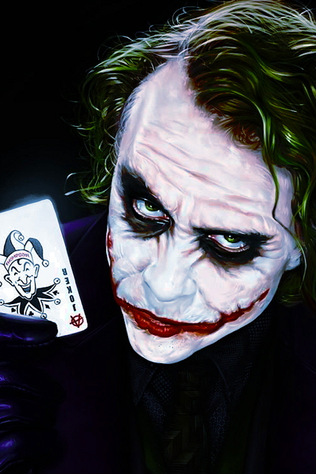 Joker Dark Knight iPhone Wallpapers HD iPhone Wallpaper Gallery 640x960