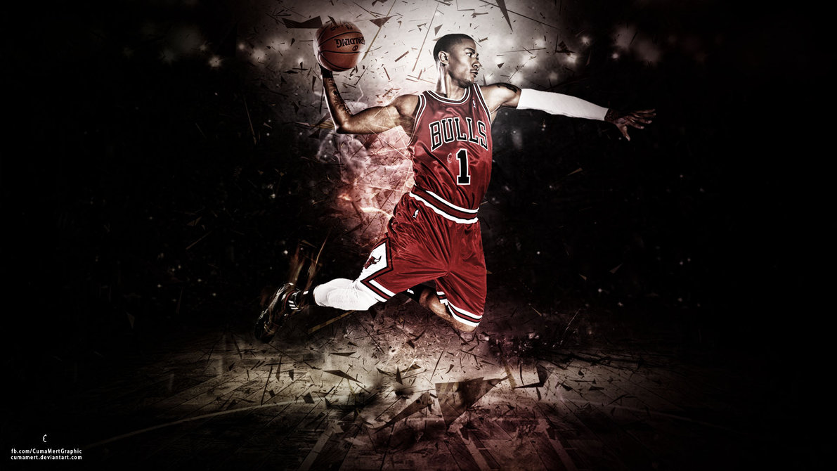 Derrick Rose Wallpaper by cumamert 1191x670