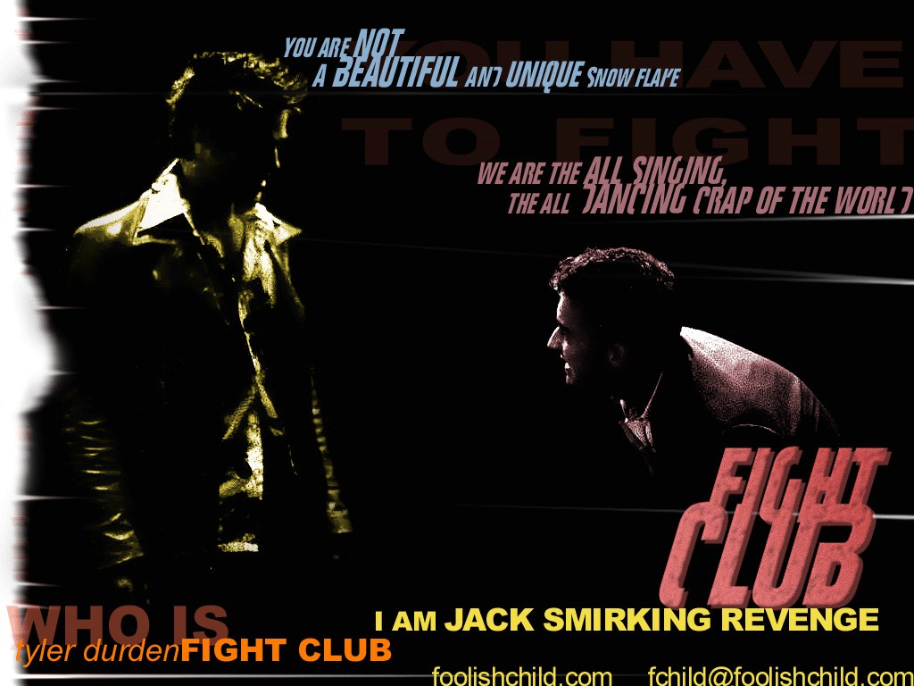 Fight Club Posters Buy a Poster 1024x768