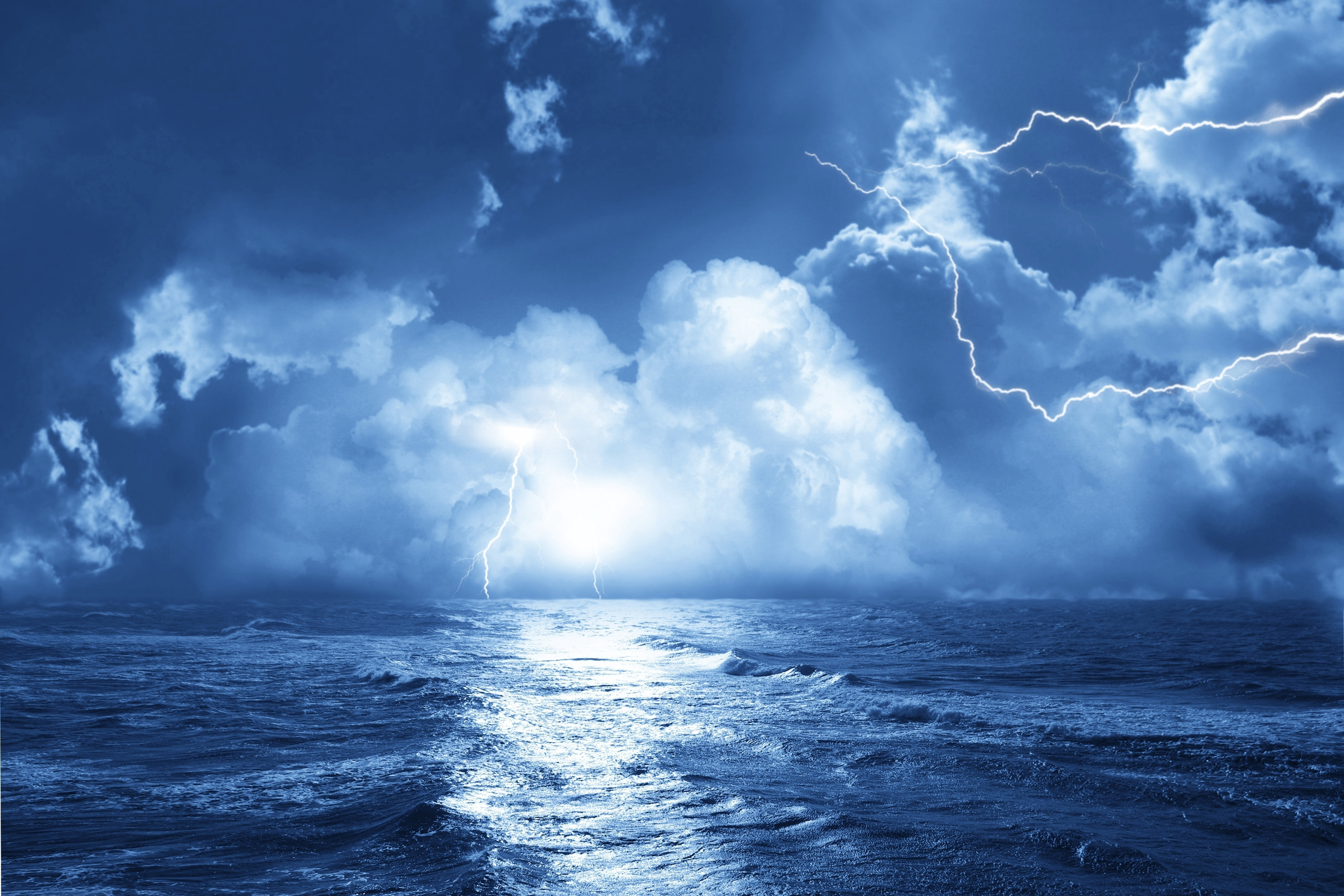 Ocean Storm Desktop Backgrounds HD Wallpapers 3000x2000