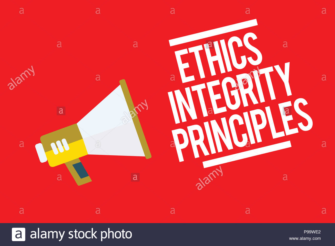 Handwriting text Ethics Integrity Principles Concept meaning 1300x956