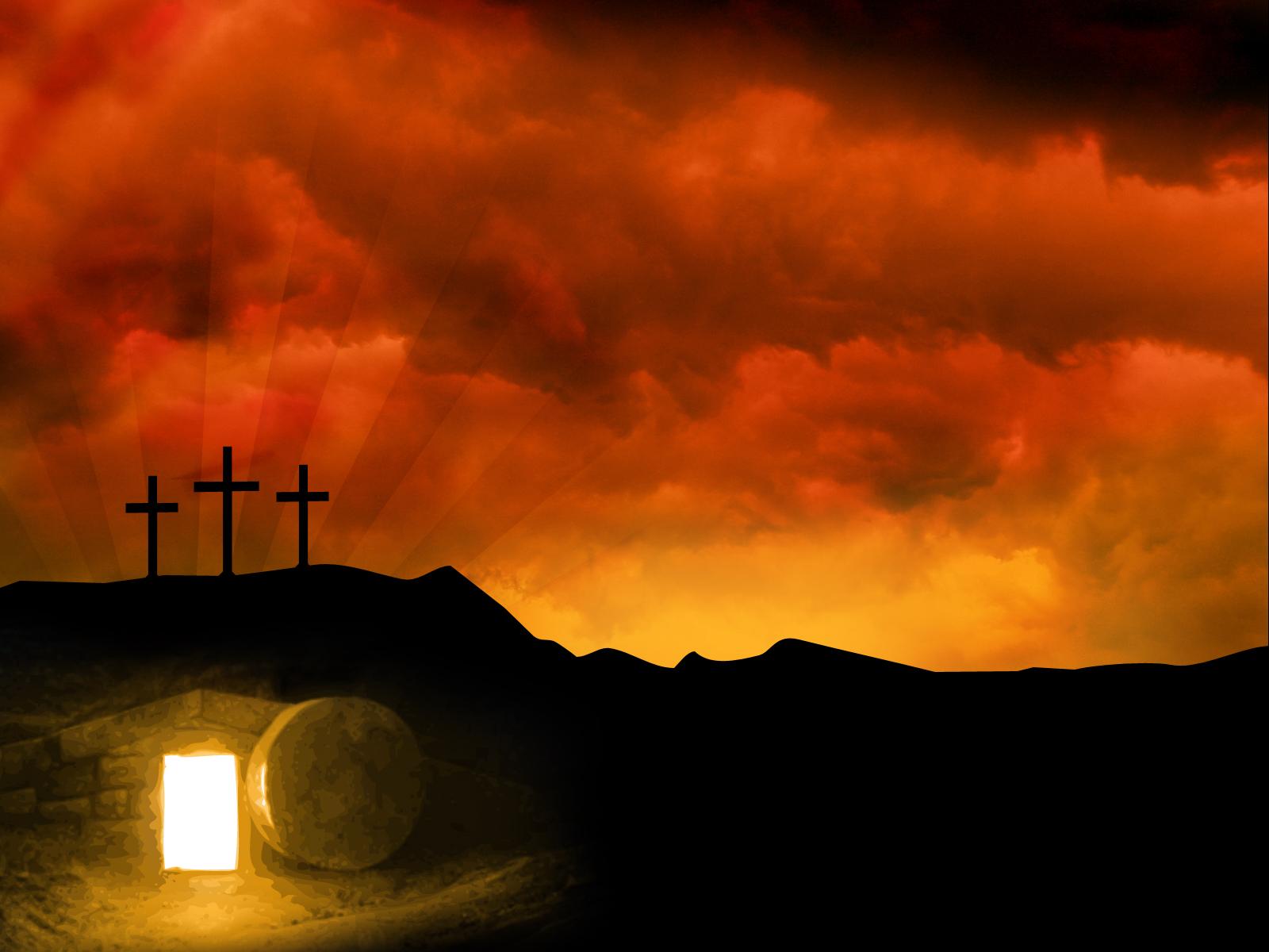 Easter Cross Wallpaper...