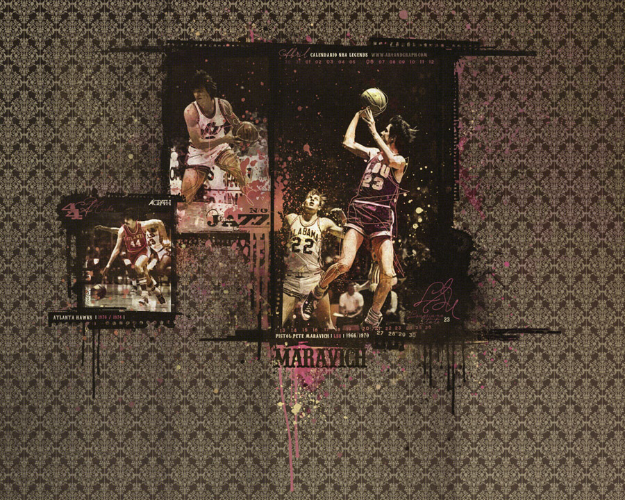 Pete Maravich Wallpapers Basketball Wallpapers at 900x720